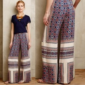 🦄Anthropologie || Elevenses Yida Wide Leg Pants